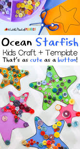 starfish ocean craft for kids that u0027s as cute as a button free