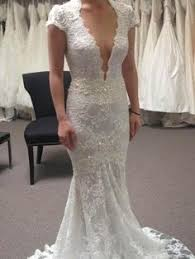 used wedding dress sandi pointe library of collections