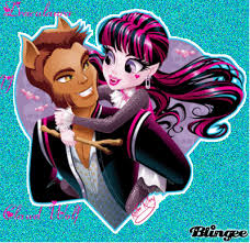 draculaura and clawd image draculaura and clawd wolf high 34648387 400 389