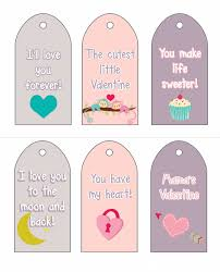 printable tags for gift baskets a message of love for your sweet little valentines free