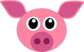 pig free vector graphics pixabay