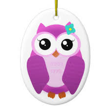 owl ornaments keepsake ornaments zazzle