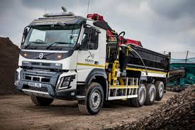 volvo commercial attention grabbing volvo fmx 8x4 tridem for pegasus commercial motor