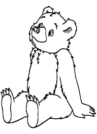little bear coloring pages coloring page of a bear little bear