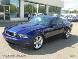 2010 Black Mustang 2010 Ford Mustang Gt Premium Coupe In Kona Blue Metallic Photo 16