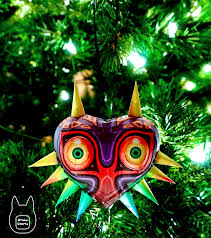 otaku crafts majora s mask papercraft ornament