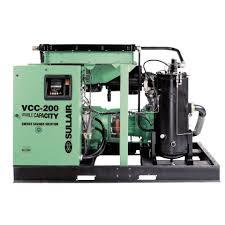 compresor de aire transportable de motor eléctrico de