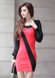beautiful black and red semi formal dress dresscab