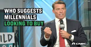 why tony robbins tells millennials to buy a house not a home