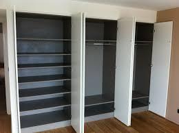 porte dressing sur mesure porte coulissante placard chambre porte de placard coulissante