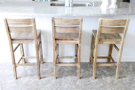decorating lovable white wooden staining unfinished bar stools