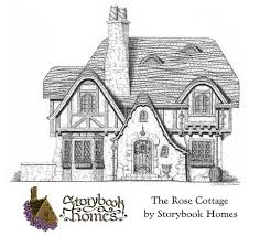 Tudor Cottage Plans The Rose Cottage Designed By Storybook Homes In The Truly