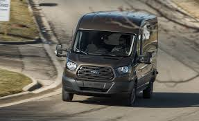 dodge commercial van 2017 ford transit 350 cargo van ecoboost test review car and