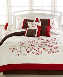 Black And Red Comforter Sets King Bedroom Target Bedding Sets Queen Bedspreads At Walmart King