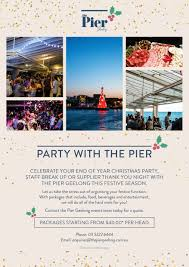 christmas party venue geelong the pier geelong