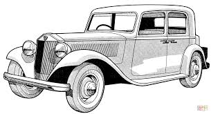 lancia belna coloring page free printable coloring pages
