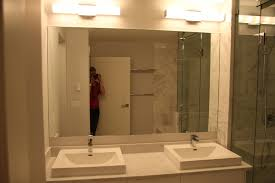 custom bathroom mirrors amazing custom mirrors for bathrooms vancouver glass north made