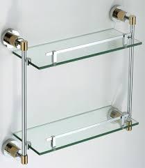 modern bathroom glass shelf sanliv bathroom accessories for