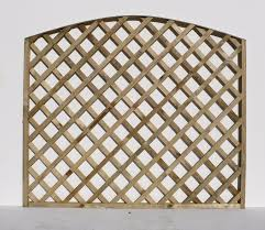 convex top diamond trellis
