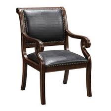 Wooden Frame Armchair Leather Chairs You U0027ll Love Wayfair
