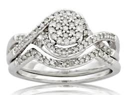 Walmart Wedding Ring Sets by Forever Bride 1 3 Carat Diamond Bridal Set 239 Available At