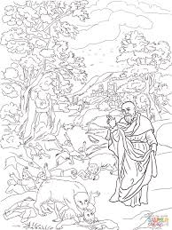 elisha and the bears coloring page free printable coloring pages