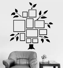 vinyl wall decal family tree frames for photos design for living vinyl wall decal family tree frames for photos design for living rooms stickers 810ig
