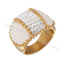 wedding ring in dubai dubai wedding rings diamond ring mix pearl gold rings