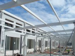 Metal Pergola Frame by Boxspan Steel Rafters U0026 Purlins For Skillion Or Cathedral Roof