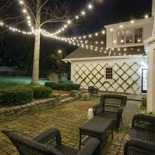 Lighting For Patios Outside String Lightsing A Beautiful Backyard Lighting Fixture