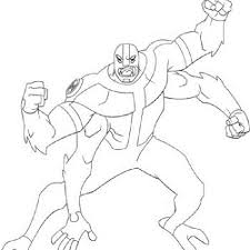 ben 10 coloring pages arms coloring kids