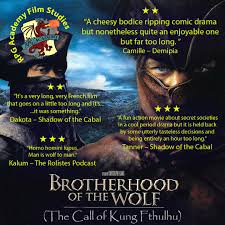 studies episode 1 brotherhood of the wolf the rpg academy