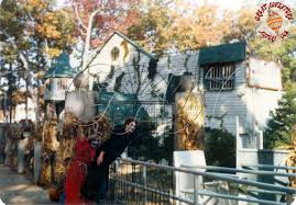 New York Six Flags Great Adventure The Original Haunted House Attractions Great Adventure History