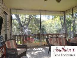 Clear Vinyl Curtains For Porch How 2 Install Southern Patio Enclosures Clear Vinyl Patio