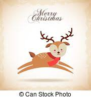 Reindeer Decoration Stock Illustrations Of Christmas Reindeer Decoration Vector
