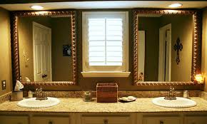 Bathroom Mirror Frame Ideas Design For Brushed Nickel Bathroom Mirror U2014 Doherty House