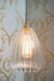 Ribbed Glass Pendant Light Molly Handmade Ribbed Glass Pendant Light Glass Pendants