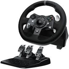 joystick volante volante de carreras logitech g920 driving para xbox one y pc