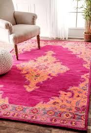 rugs stunning vintage soft pink overdyed rug by emelie for