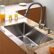 kraus khu100 30 30 undermount single bowl 16 gauge stainless steel kitchen sink