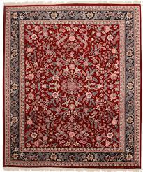 Rugs In Dallas 8 X 10 Vintage Wool Persian Design Rug 6636 Exclusive Oriental Rugs