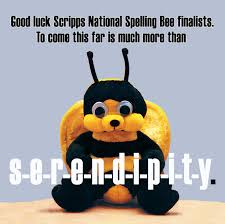 good luck to scripps national spelling bee finalist danny u0027s bee