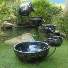 Water Fountain For Backyard - placement of water fountains in the backyard will beautify your