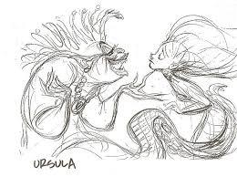 156 disney u0027s mermaid drawings images