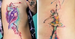 36 beautiful watercolor tattoos from the world u0027s finest tattoo artists