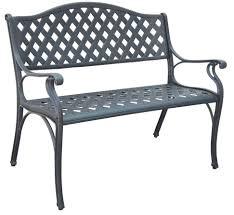 Aluminium Patio Table Aluminum Garden Bench Benches Contemporary Aluminium Garden