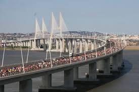 Vasco Da Gama Route Map by Lisbon Marathon Race Course