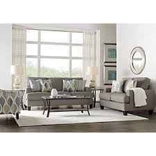Rooms To Go Living Room Furniture by Cypress Gardens Blue 7 Pc Living Room Living Room Sets Blue