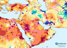 Mideast Map Middle East Water Deficits In Turkey Saudi Arabia Yemen U2014 Isciences