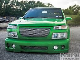 chevy colorado green 2004 chevy colorado pickled the real dill mini truckin u0027 magazine